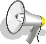 Multimeter Test Lautsprecher als Symbol für die Akustik